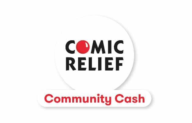 Comic Relief Community Cash 2017 logo