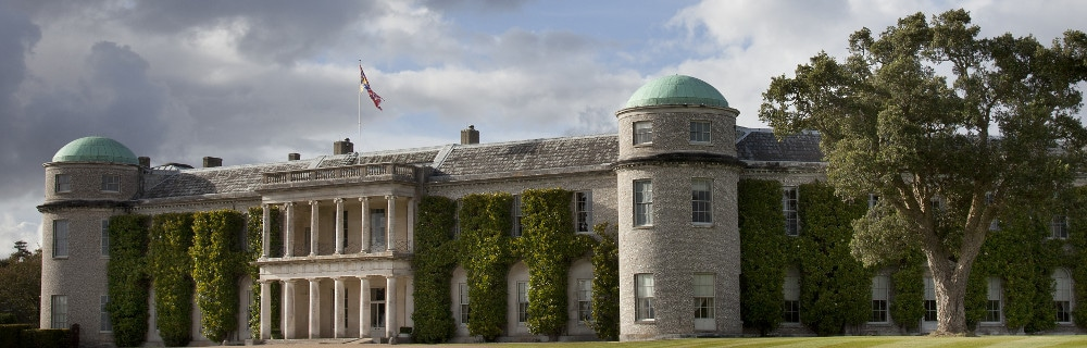 This is a picture of Goodwood House Chichester