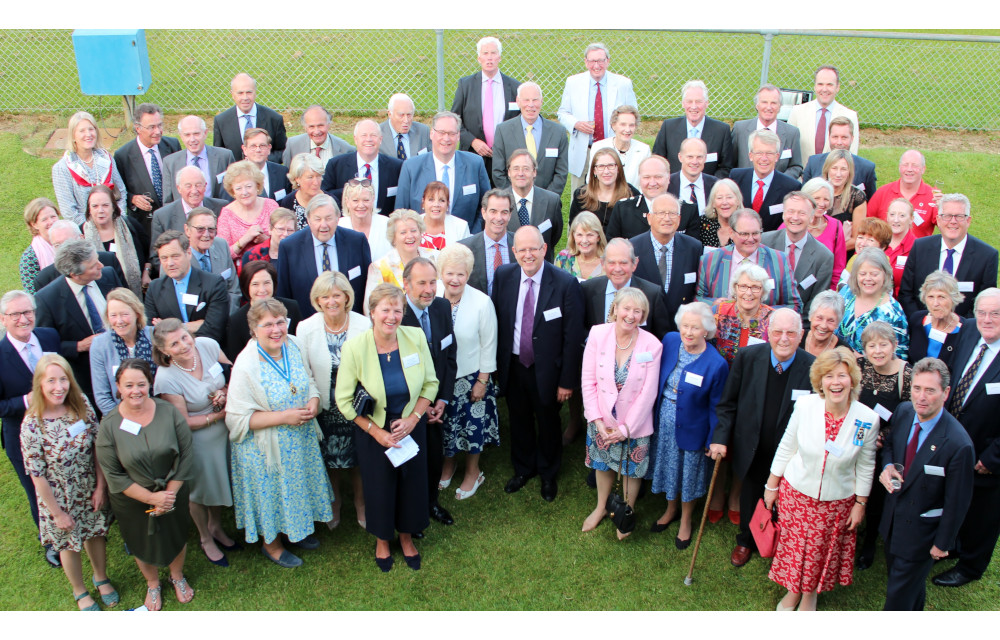 This is a picture of at a reception, celebrating 10 years' of the High Sheriffs Fund at Sussex Community Foundation