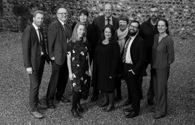 This is a picture of the team at Sussex Community Foundation 2018. Credit: Darren Cool